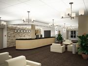 Hotel reception_01 3d model