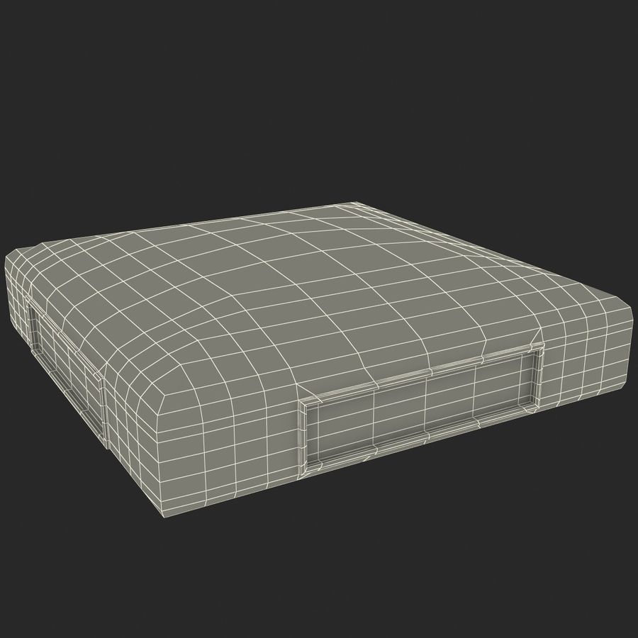 First Base royalty-free 3d model - Preview no. 25
