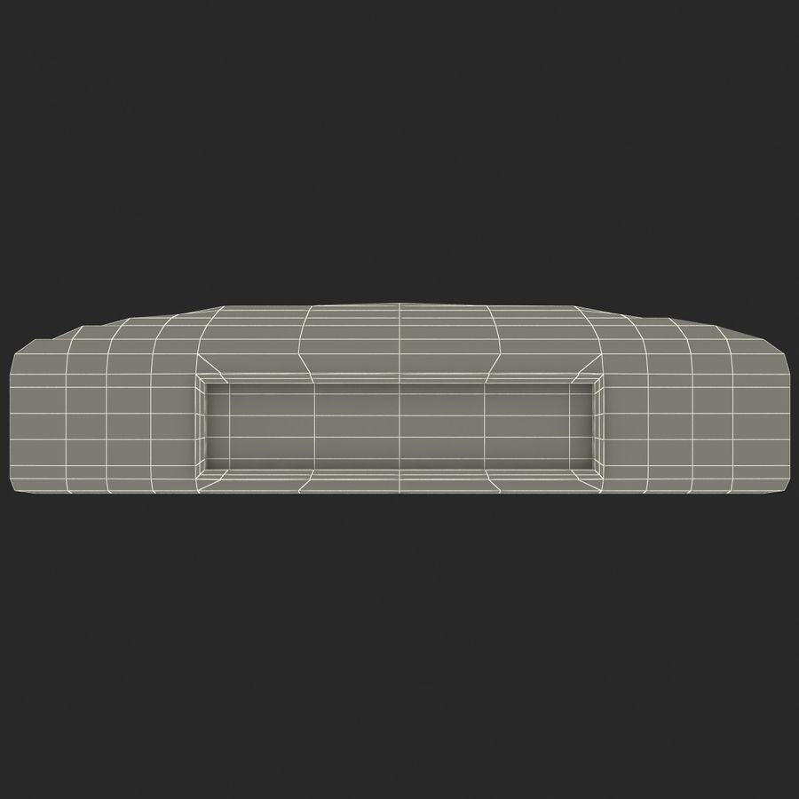 First Base royalty-free 3d model - Preview no. 18
