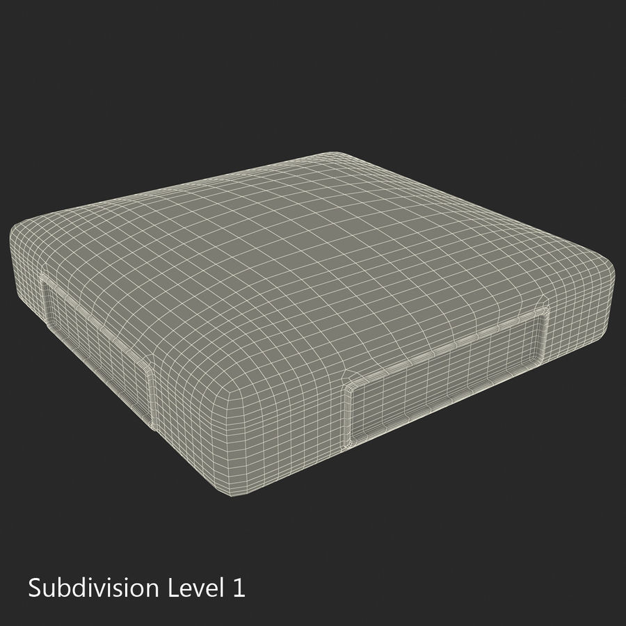 First Base royalty-free 3d model - Preview no. 29