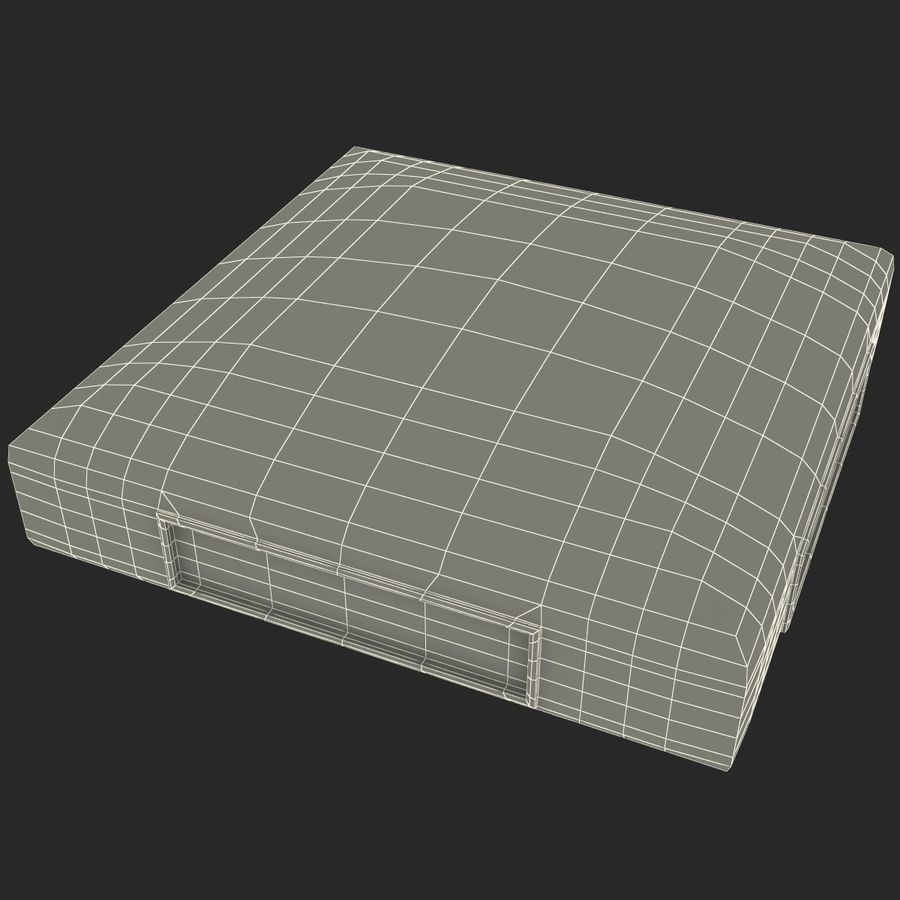 First Base royalty-free 3d model - Preview no. 24