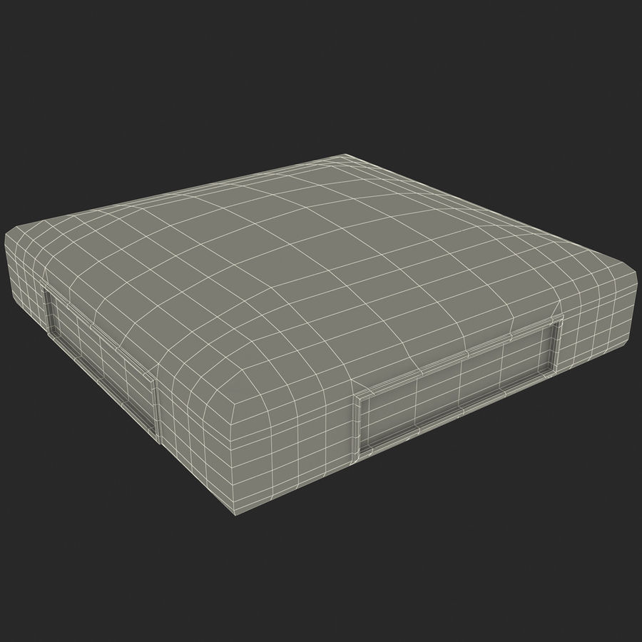 First Base royalty-free 3d model - Preview no. 17