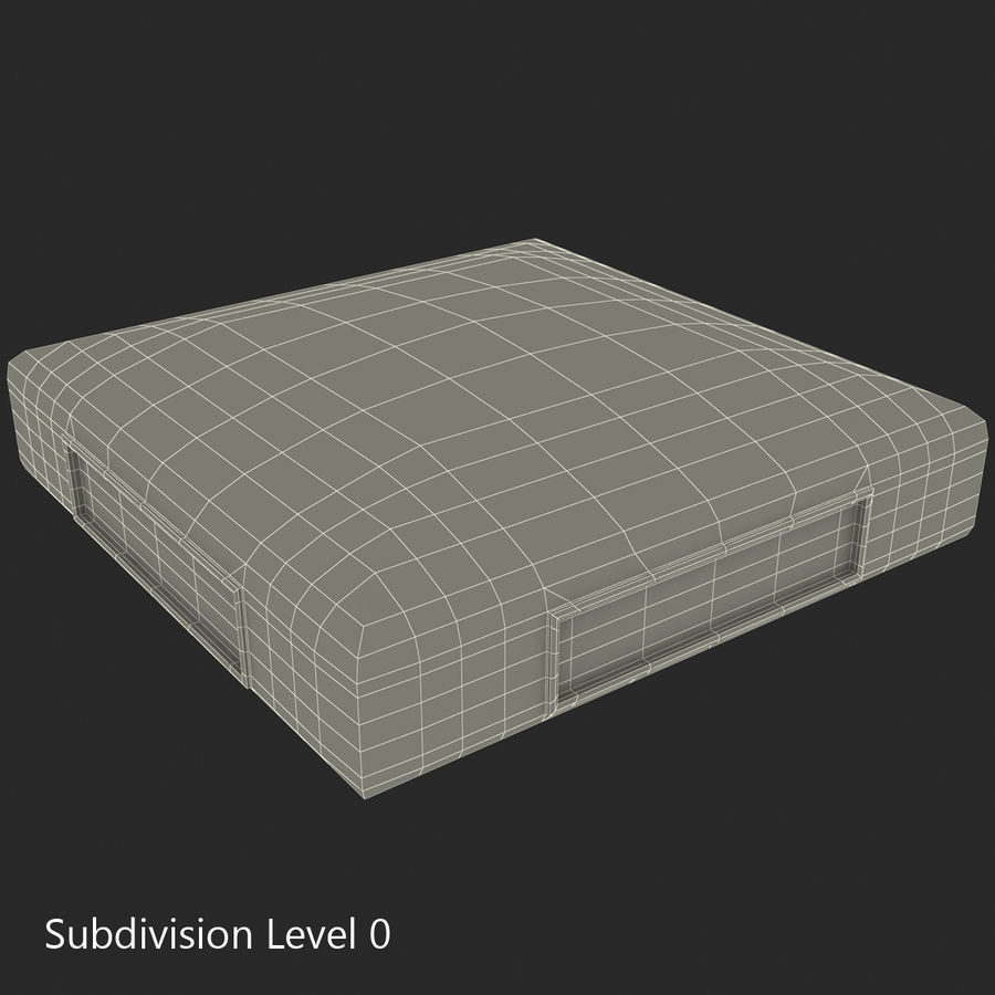 First Base royalty-free 3d model - Preview no. 30