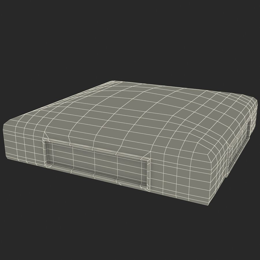 First Base royalty-free 3d model - Preview no. 26