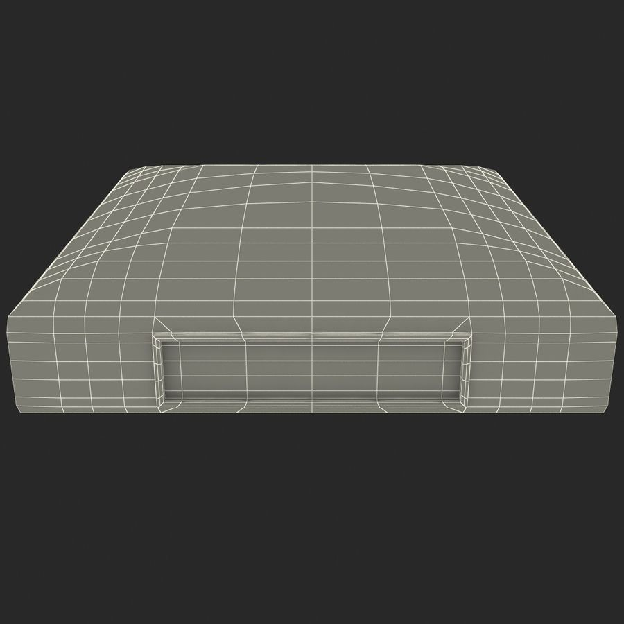 First Base royalty-free 3d model - Preview no. 35