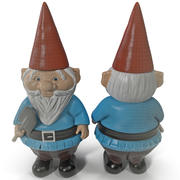 Lawn Gnome Pudgy 3d model