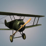 Sopwith F.1 Camel 3d model