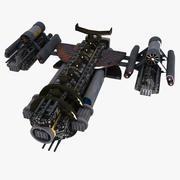 Lutador espaço 2 3d model