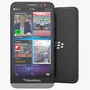 Smartphone Blackberry Z30 3d model