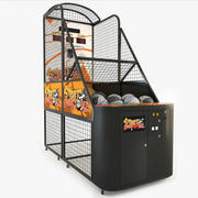 Street Basketball Arcade Machine 3d model