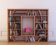 Bookcase 22 3d model