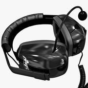 Race Headphones Racefanner 3d model