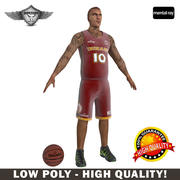 Basketball Player Low Poly 3d model