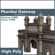 The Gateway of India 3d model