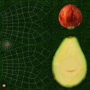 Avokado 3d model
