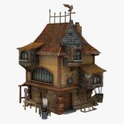 Spear Maker Building 3d model