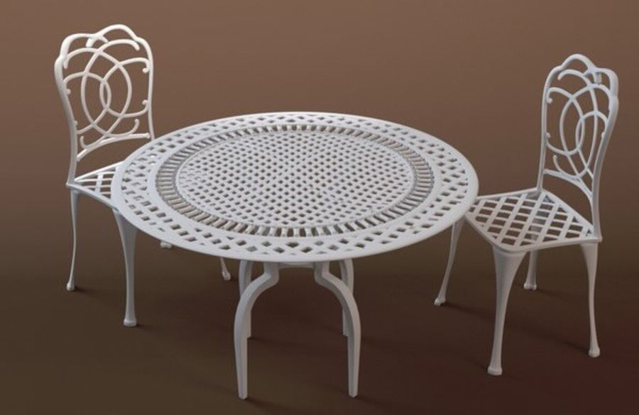 Bestro Bord & Stolar royalty-free 3d model - Preview no. 1