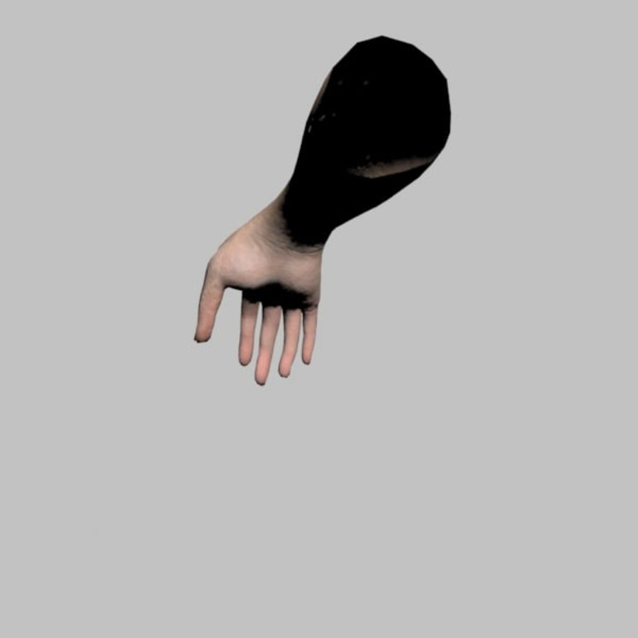 Hand (Female) royalty-free 3d model - Preview no. 7