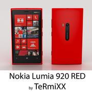 Nokia Lumia 920 RED 3d model