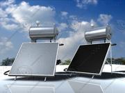 Solarny podgrzewacz wody 3d model