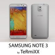 Samsung Note 3 3d model