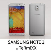 Samsung Note 3 3d model