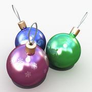 크리스마스 공 3d model