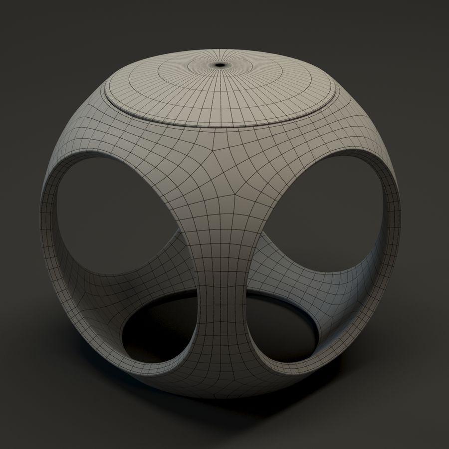 Oblio kruk royalty-free 3d model - Preview no. 3