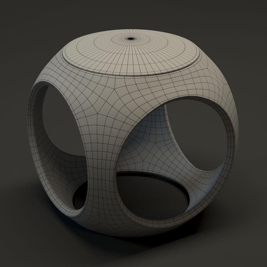 Oblio kruk royalty-free 3d model - Preview no. 5