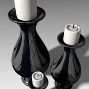 Candele ornamentali 3d model
