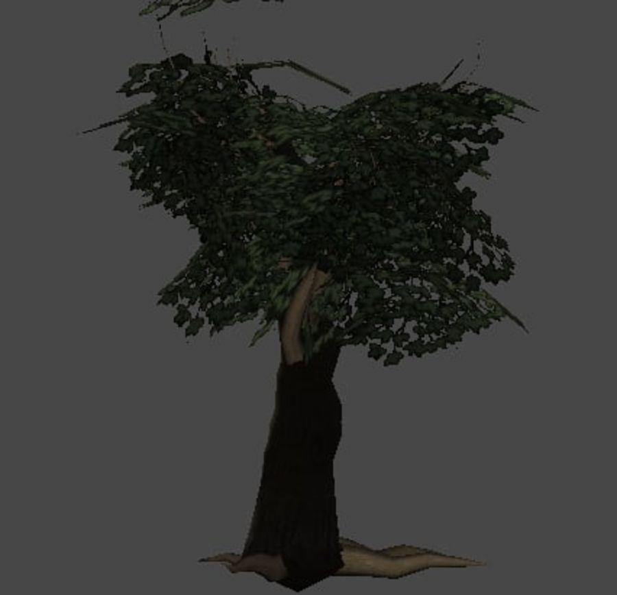 Pakiet drzew leśnych royalty-free 3d model - Preview no. 4