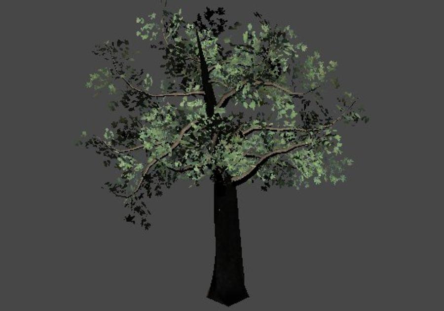 Pakiet drzew leśnych royalty-free 3d model - Preview no. 2