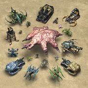 Mutant Ordusu RTS 3d model