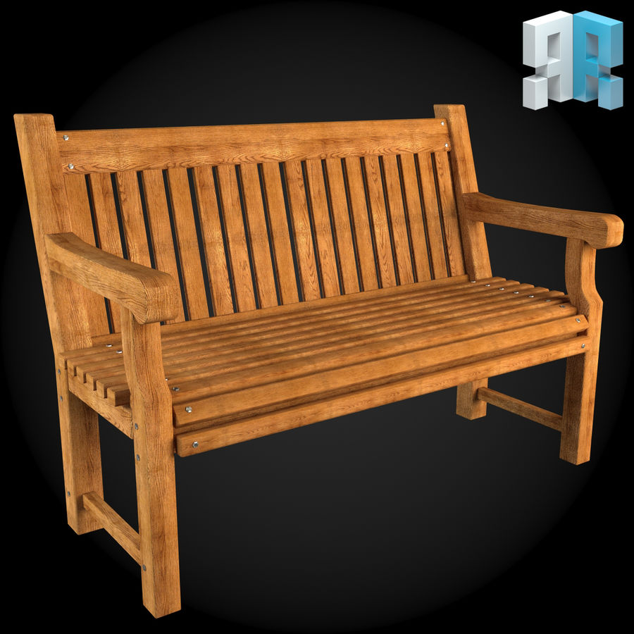 Meubles de jardin 001 royalty-free 3d model - Preview no. 3