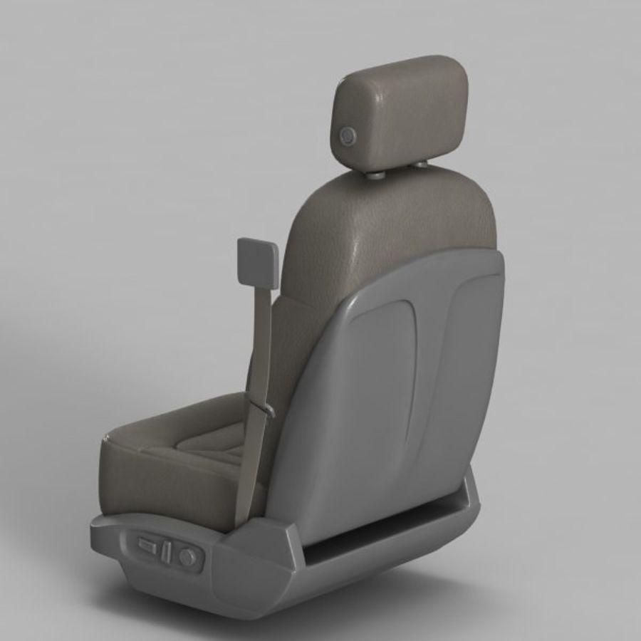 Car Seat royalty-free 3d model - Preview no. 9