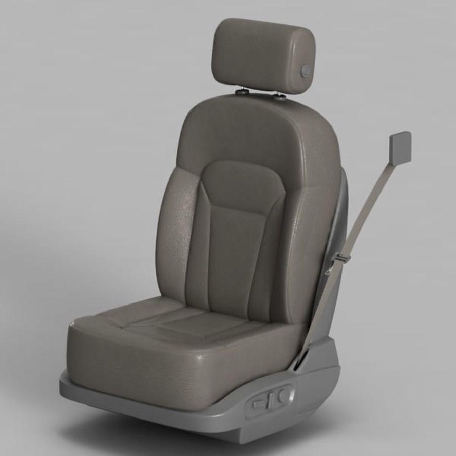 Car Seat royalty-free 3d model - Preview no. 2