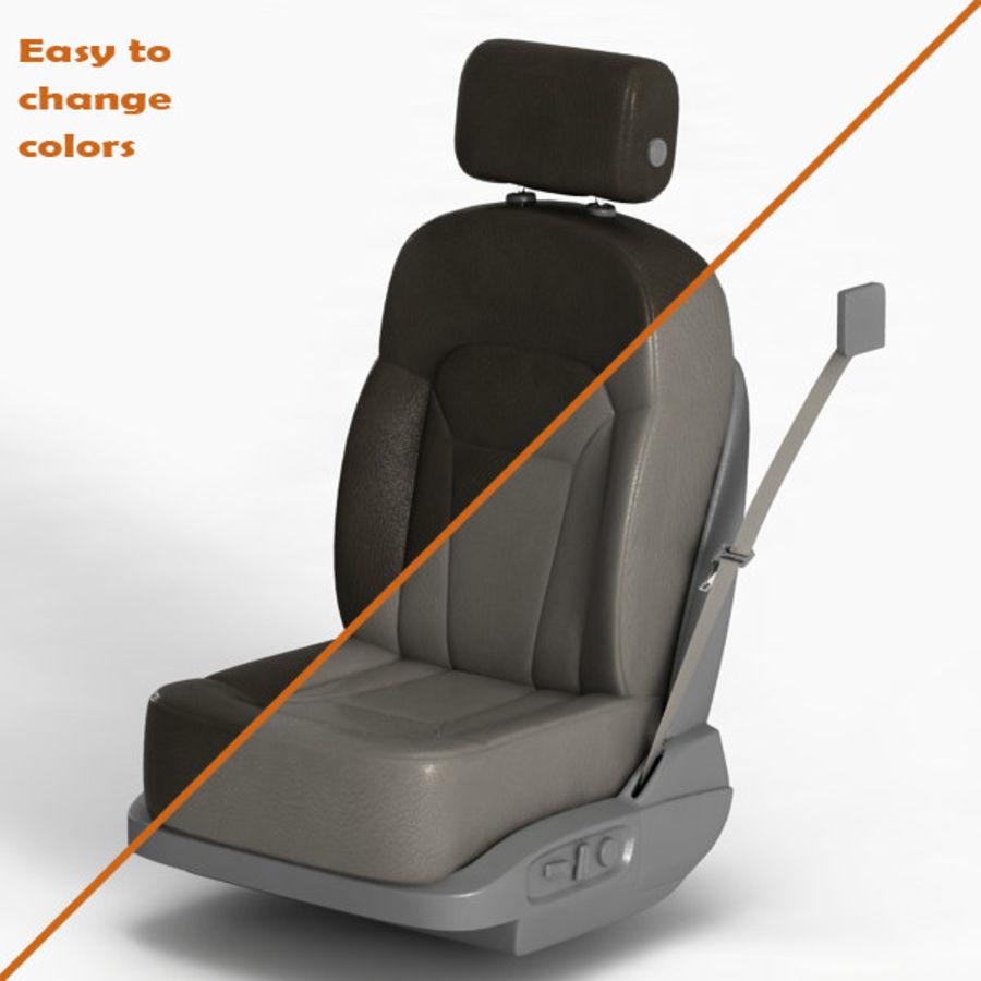 Car Seat royalty-free 3d model - Preview no. 13