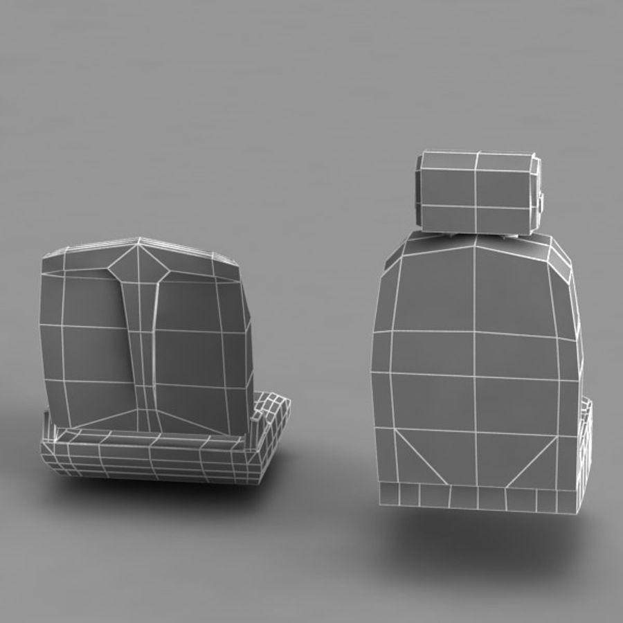 Car Seat royalty-free 3d model - Preview no. 15