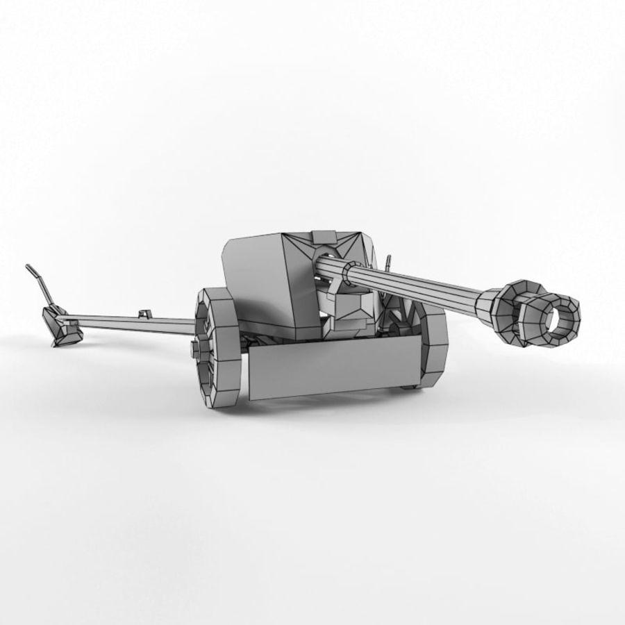 Pak 40 royalty-free 3d model - Preview no. 18