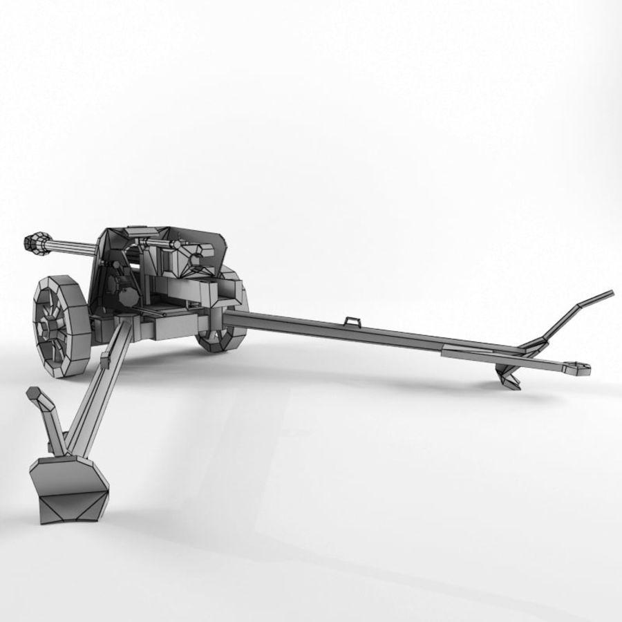 Pak 40 royalty-free 3d model - Preview no. 19