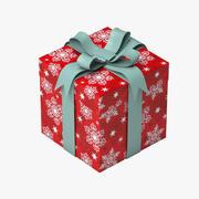 Present Box 3d model