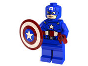 Лего Капитан Америка 3d model
