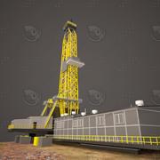 wieża wiertnicza 3d model