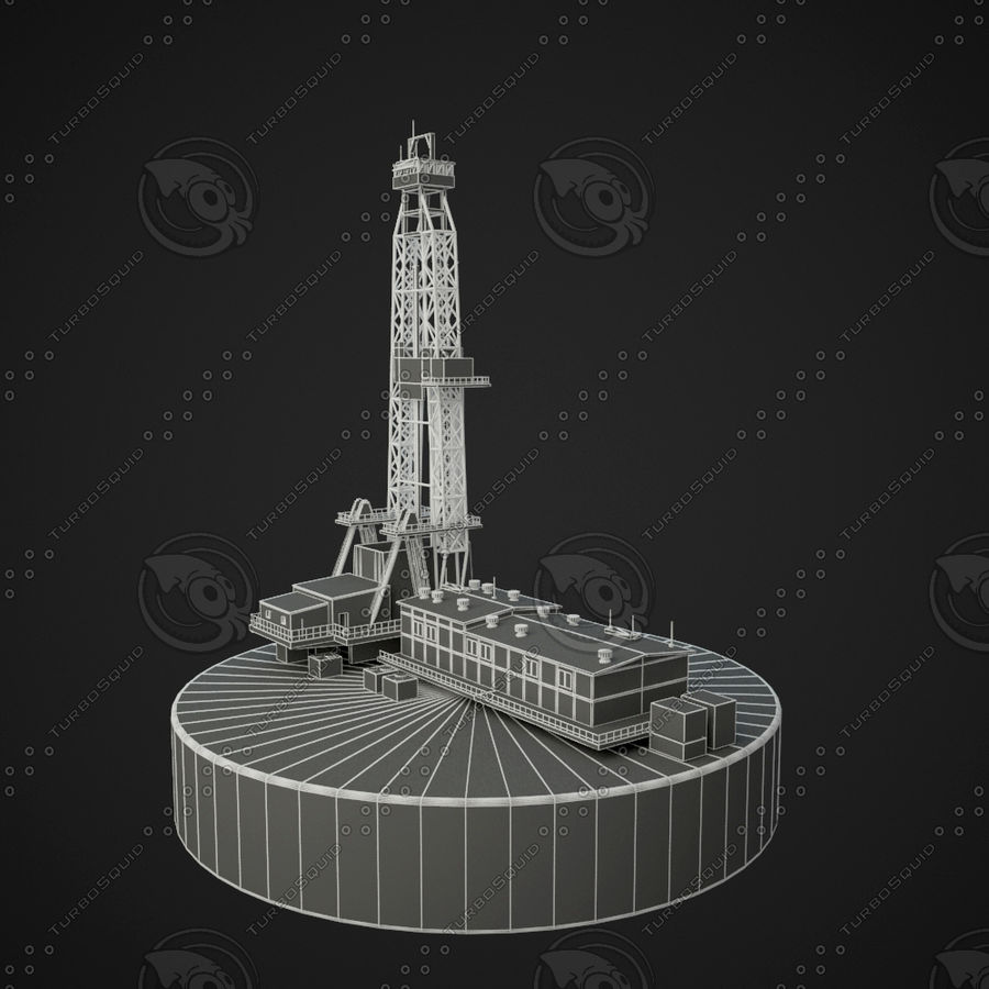 torre di perforazione royalty-free 3d model - Preview no. 5
