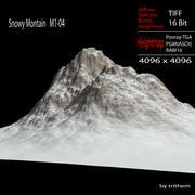 Snowy Mountain M1-04 3d model