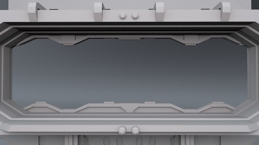 Starten Sie Bay And Doors royalty-free 3d model - Preview no. 4