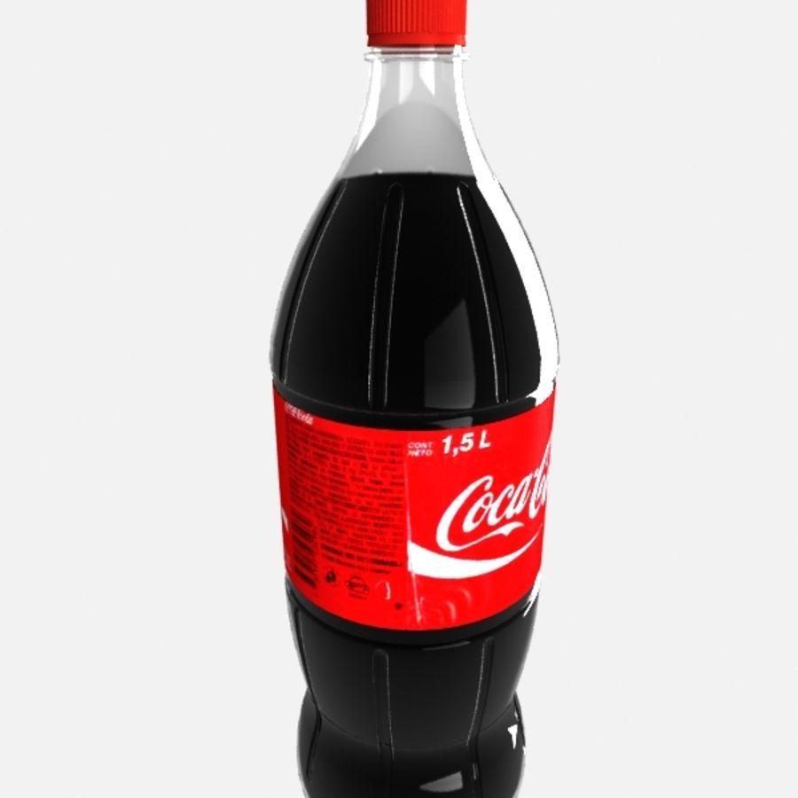 Coca cola bottle royalty-free 3d model - Preview no. 2