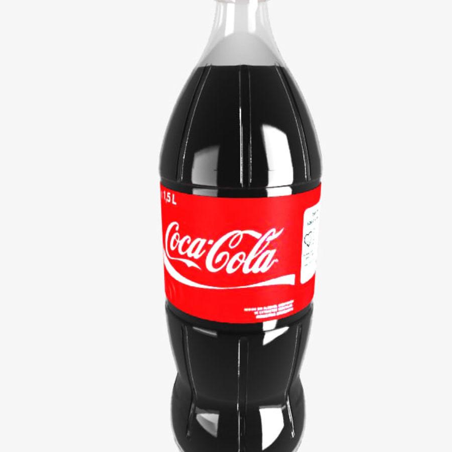 Coca cola bottle royalty-free 3d model - Preview no. 1
