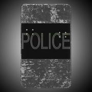 Полицейский щит 3d model