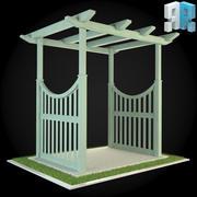 Pergola 004 3d model